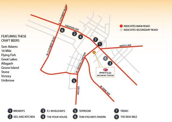 pub fest map